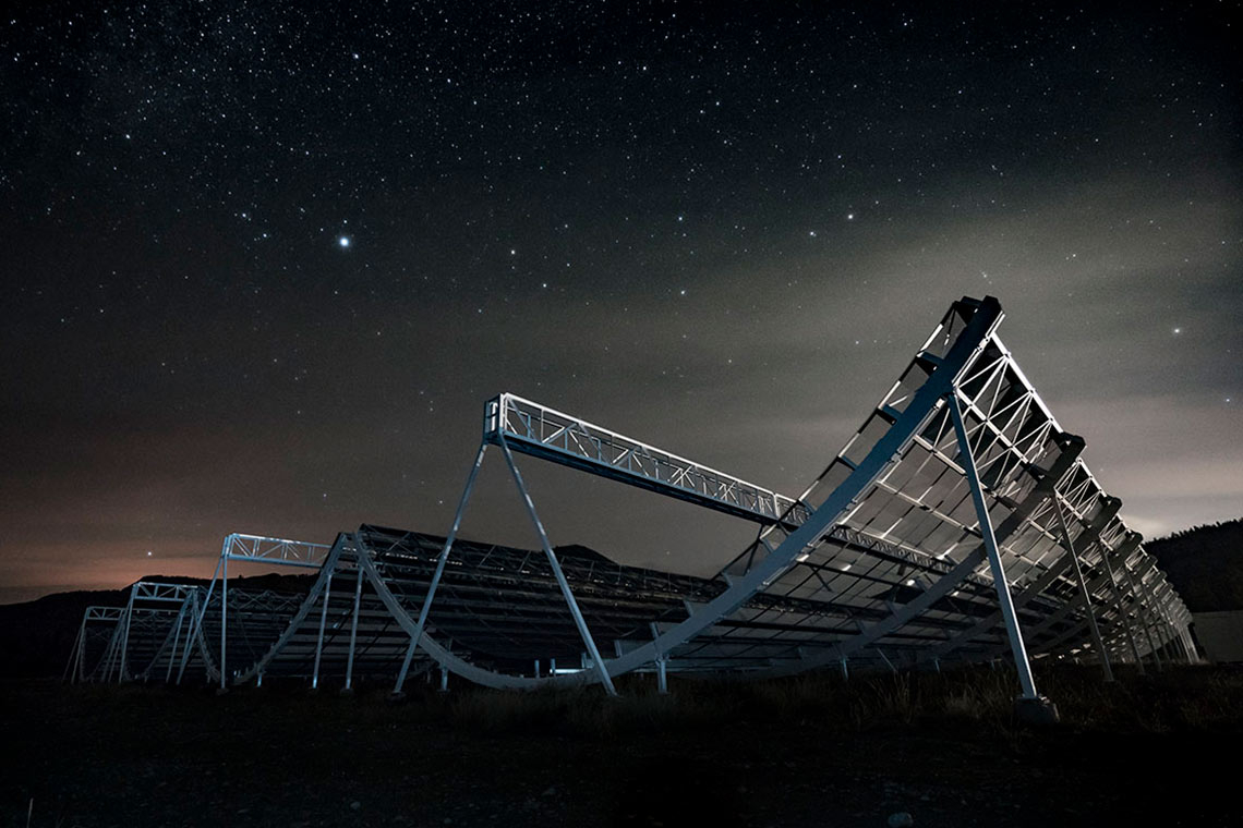 photo of radio telescope