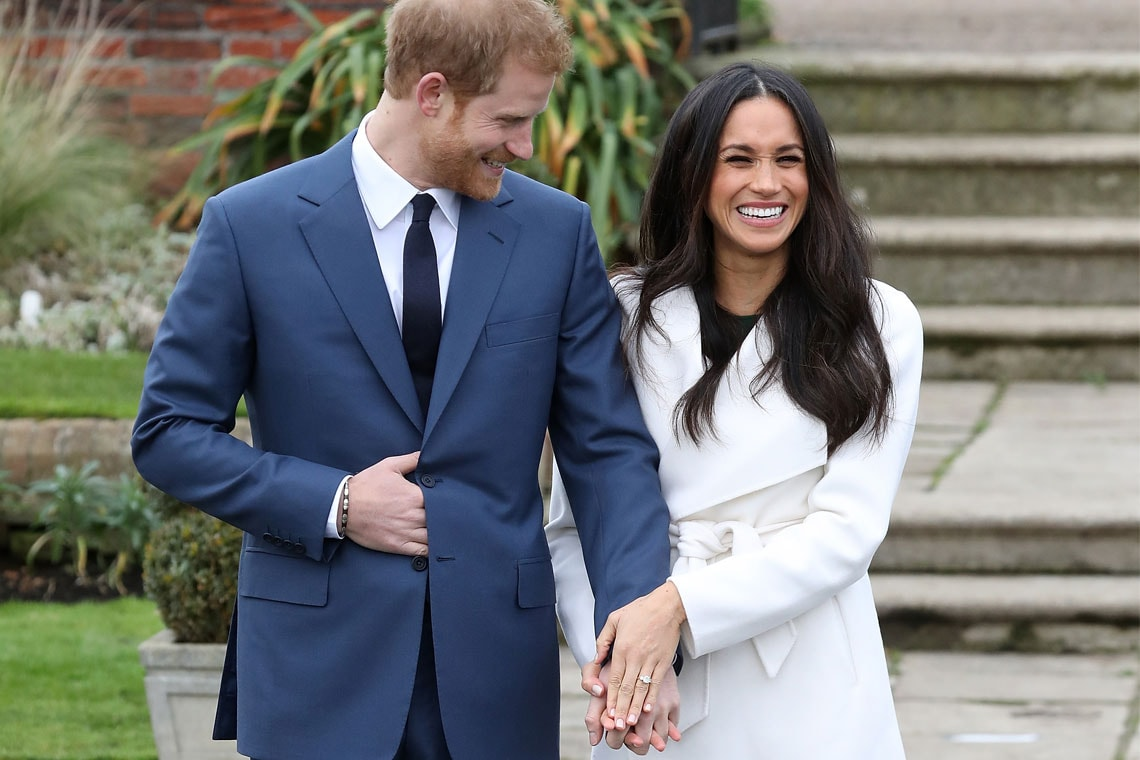 Photo of Prince Harry and Meghan Markle