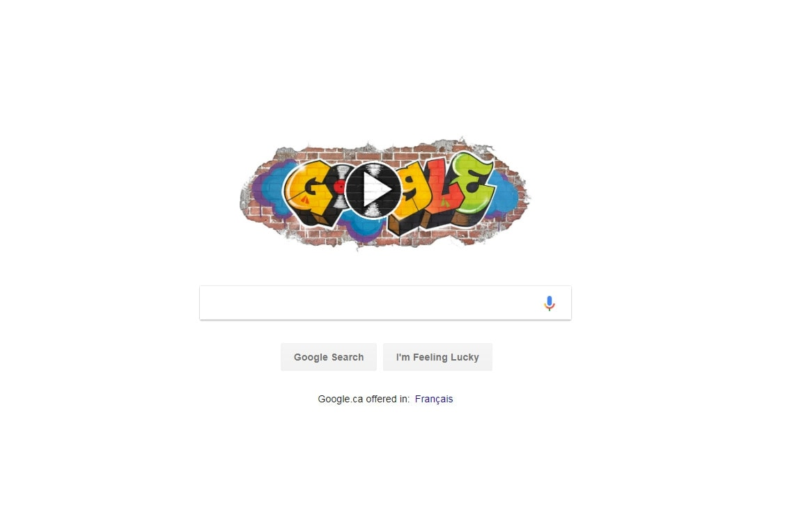 Photo of Google doodle