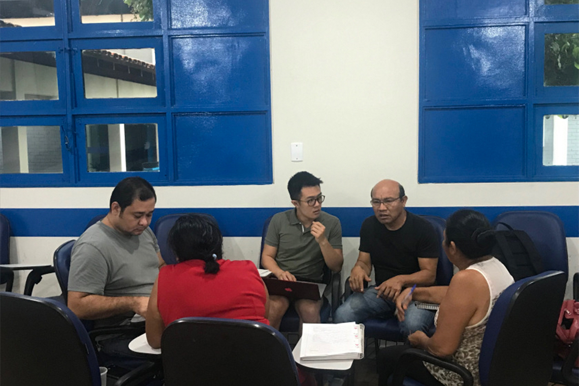 Photo of Macuxi language study group