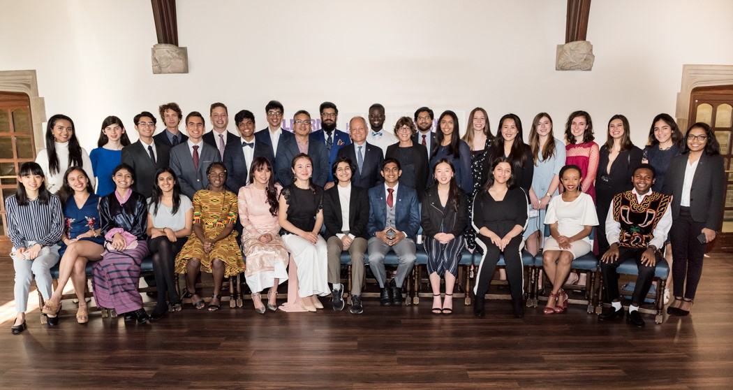 A group photo of the 2019 Pearson Scholars