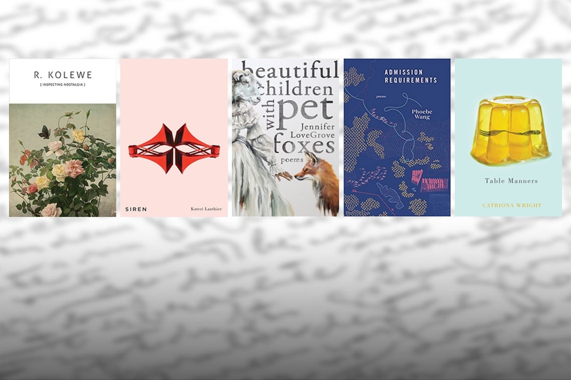 the poetry finalists