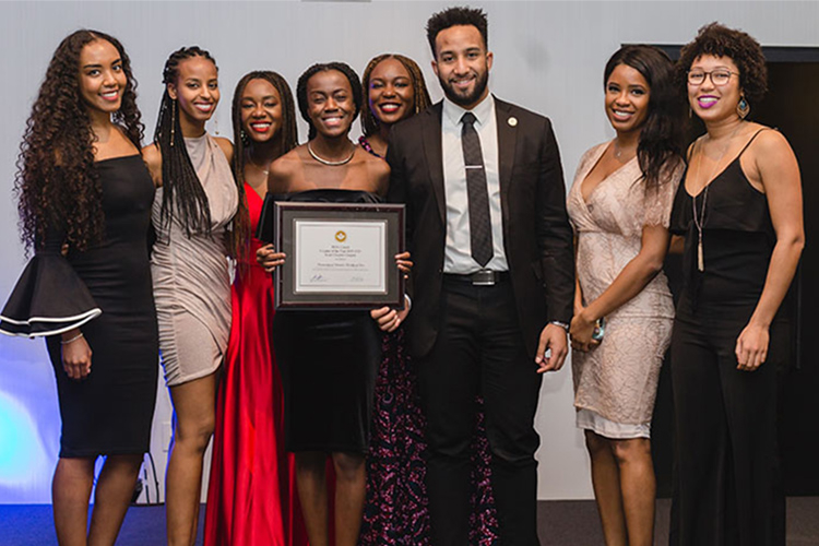 U of T Small chapter of the year Award winners