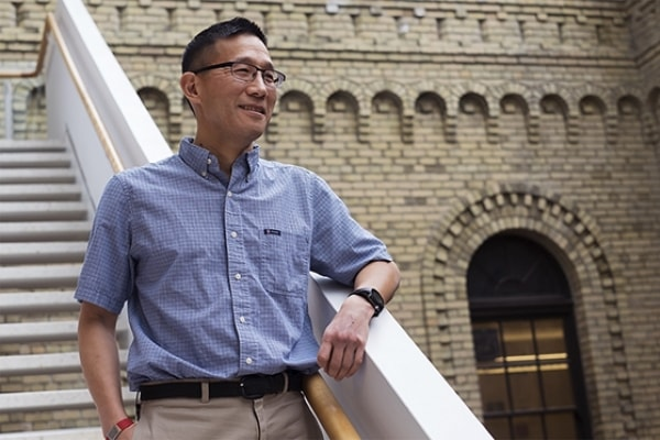 Professor Christopher Yip, the director of the Institute of Biomaterials and Biomedical Engineering, was chosen to take up the international partnerships portfolio (photo by Geoffrey Vendeville)