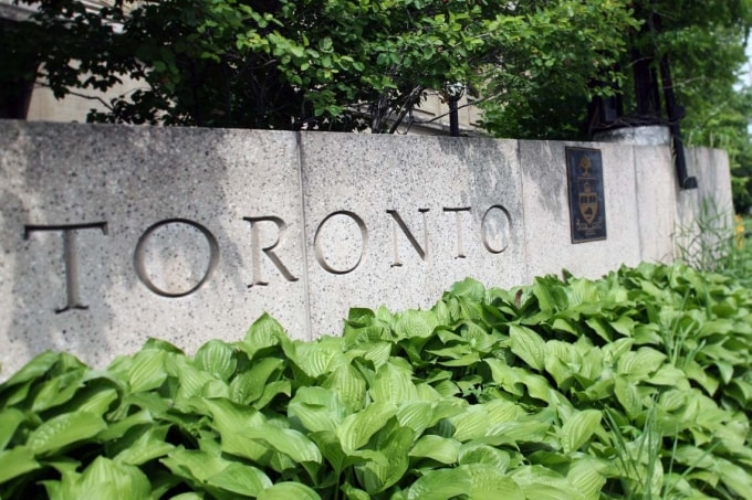 photo of Toronto sign