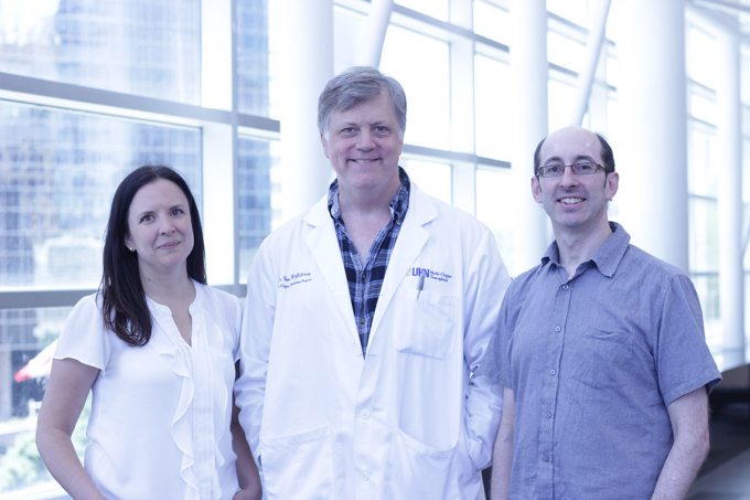 Photo of liver researchers