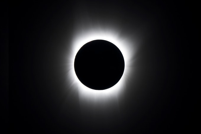 Eclipse photo from NASA