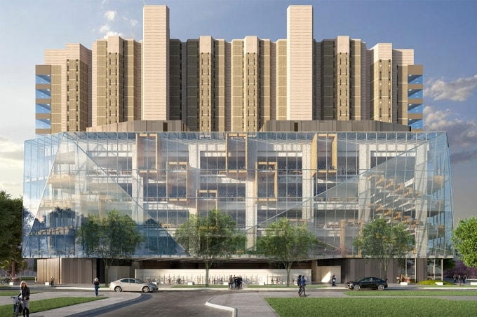 Robarts Common rendering