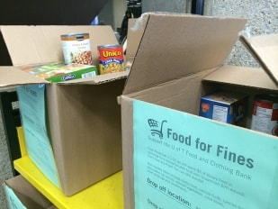 Photo of Food for Fines