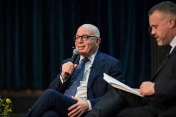 """Fire and Fury"" author Michael Wolff"