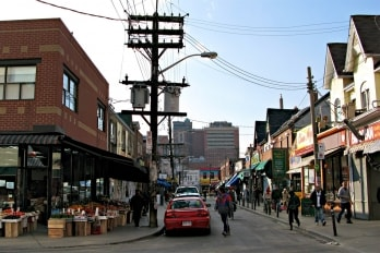 photo of Kensington Market