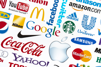 collage of corporate logos