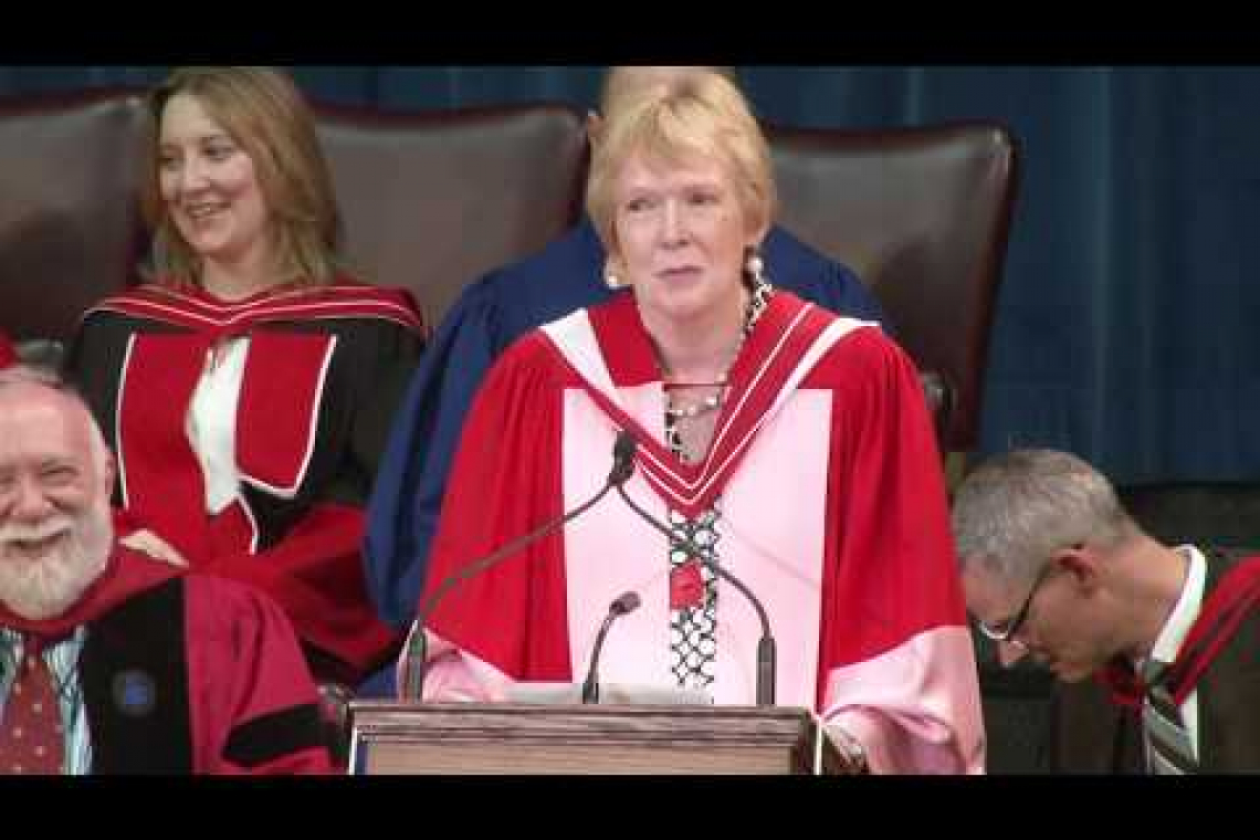 Embedded thumbnail for #UofTGrad17: Honorary degree recipient Margaret MacMillan on learning and evolving from the past