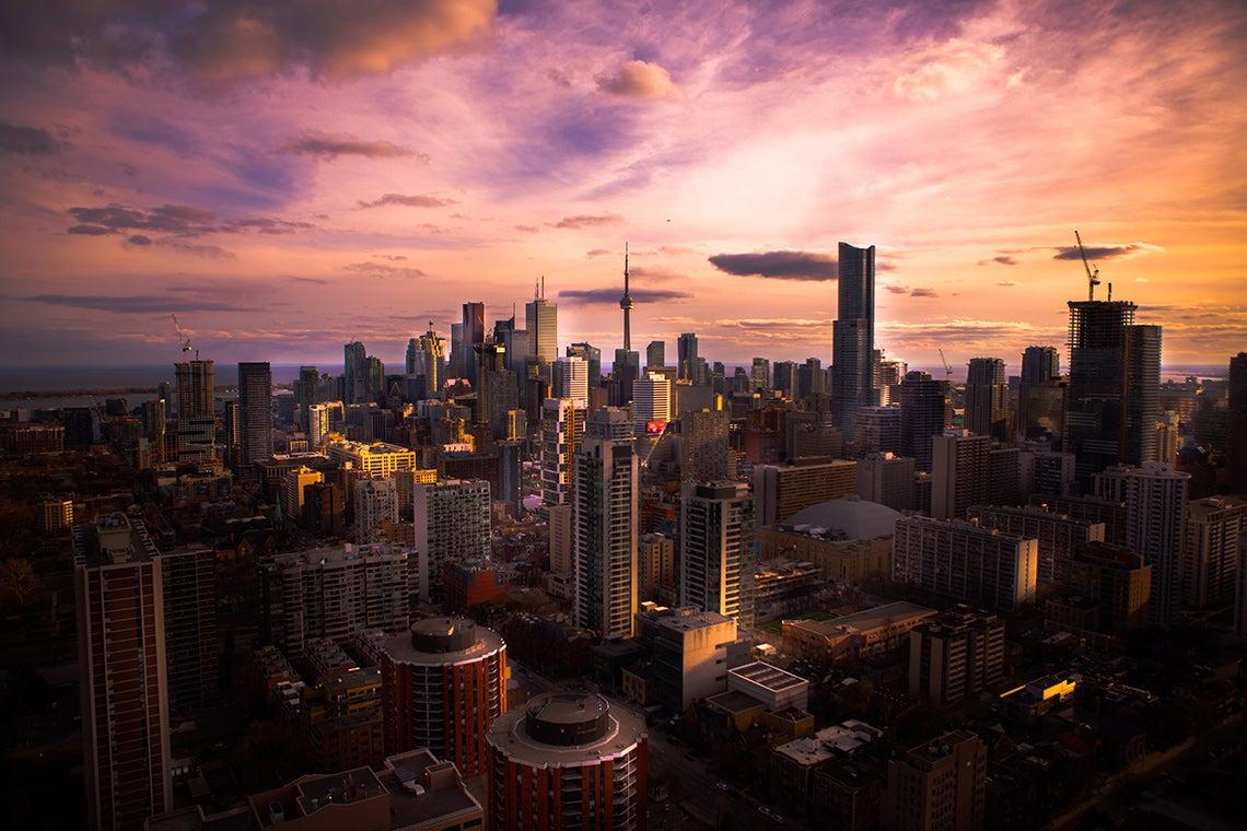 Photo of Toronto skyline