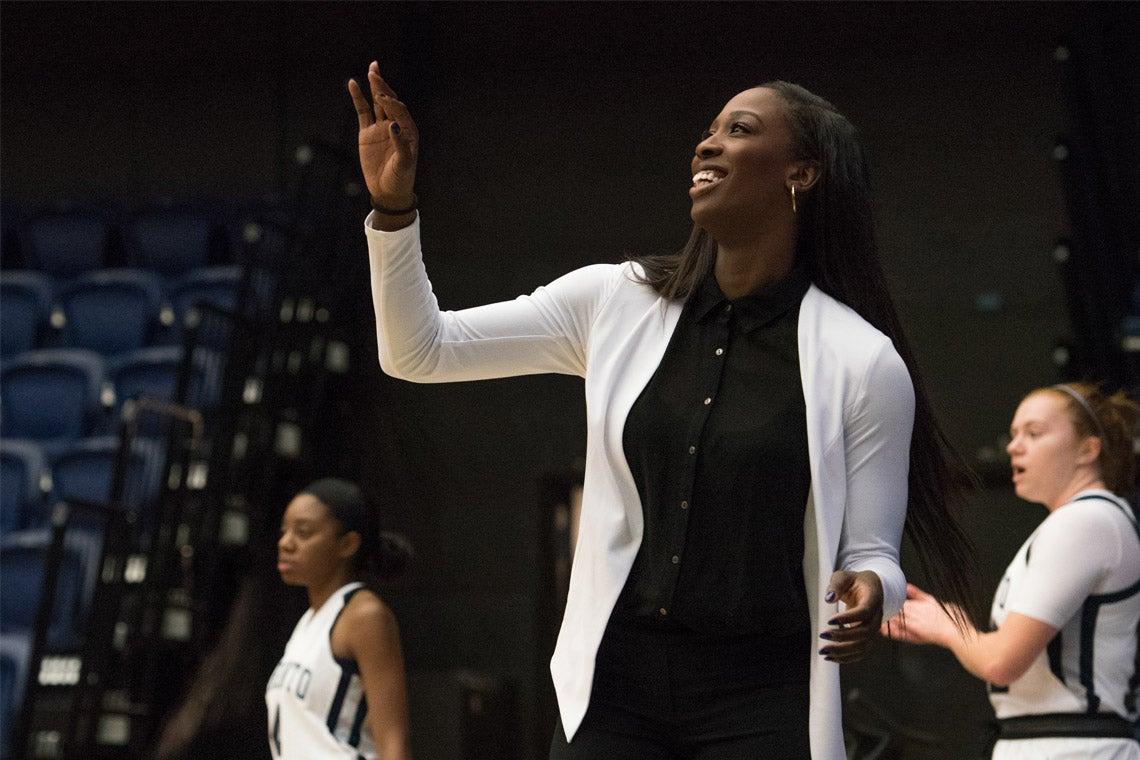 dc61fc94c6d U of T basketball coach Tamara Tatham joins Raptors 905 as first ...