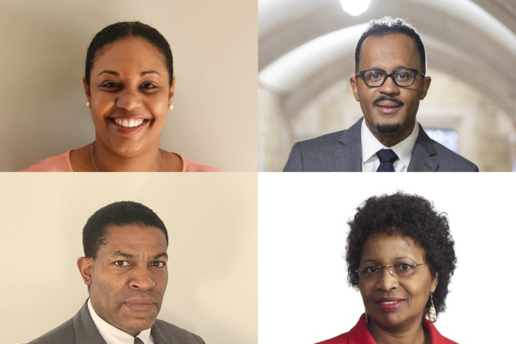 Composite photo of members of the Anti-Black Racism Task Force