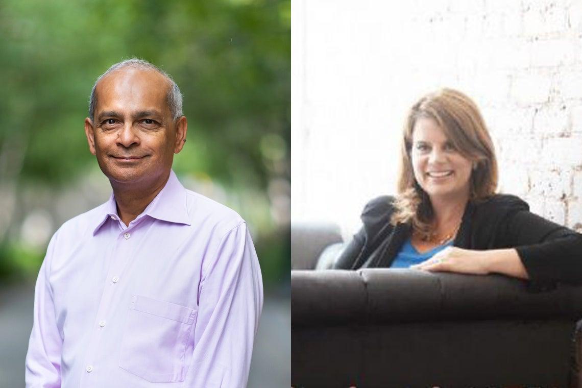 Vivek goel and Julia Zarb