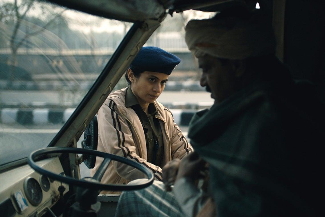 A scene from the movie Delhi Crime