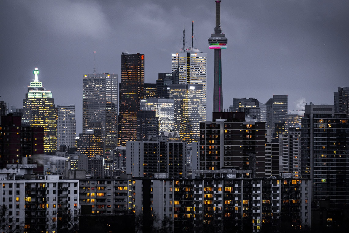 Photo of Toronto skyline